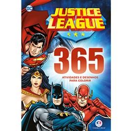 Liga da Justiça 365 Atividades e Desenhos para Colorir