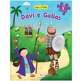 Livro Leia e Monte Davi e Golias