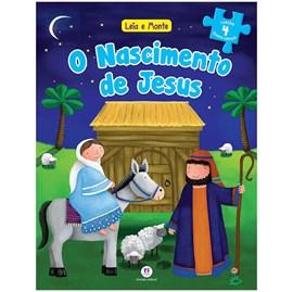 Livro Leia e Monte O nascimento de Jesus