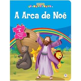 Livro Quebra-Cabeça Arca de Noé