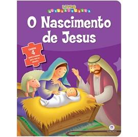 Livro Quebra-Cabeça O nascimento de Jesus