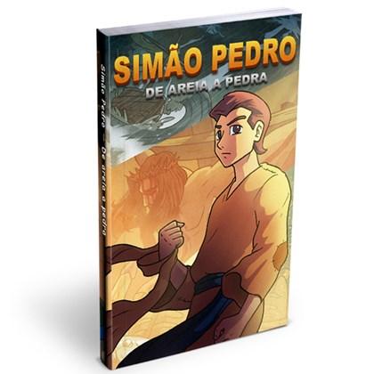 Mangá Simão Pedro: De Areia A Pedra