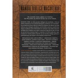 Manual bíblico Macarthur | Livro por livro