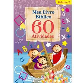 Meu livro bíblico 60 atividades - Vol.2   Ciranda Cultural