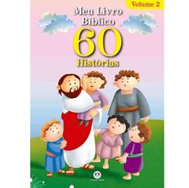 Meu livro bíblico 60 histórias - Vol.2   Ciranda Cultural