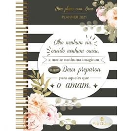 Meu plano com Deus | Planner 2021 |  O que Deus preparou