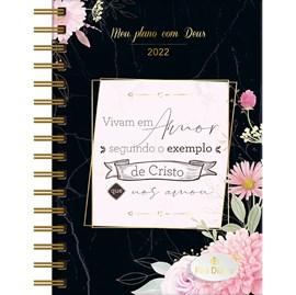 Meu Plano com Deus | Planner 2022 | Exemplo de Cristo | Capa Preta