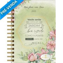 Meu Plano com Deus | Planner 2022 | Jardim Bem regado