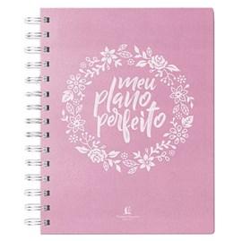 Meu Plano Perfeito   2020   Capa Tecido Rosa