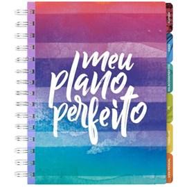 Meu Plano Perfeito | Capa Colorida Aquarela