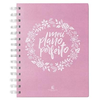 Meu Plano Perfeito | Capa Tecido Rosa