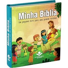Minha Bíblia   Letra Normal   TNL   Capa Dura Ilustrada