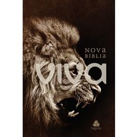 Nova Bíblia Viva Leão Rugindo  | NVB | Letra Normal | Capa Dura