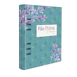 Pão Diário Planner 2021 | Capa Azul Fichário