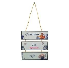 Placa de cordas MDF | Cantinho do Café
