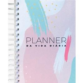 Planner da Vida Diária Joyce Meyer | Capa Dura Artística Pincél Rosa