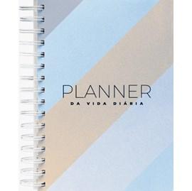 Planner da Vida Diária Joyce Meyer | Capa Dura Listrada Azul