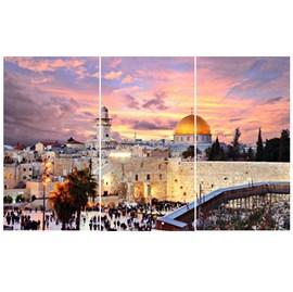Quadro Canvas Personalizado A4 | Jerusalém Dia