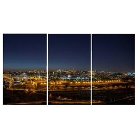 Quadro Canvas Personalizado A4 | Jerusalém Noite