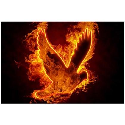 Quadro Decorativo Personalizado A4 | Espirito Santo Fire