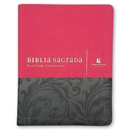 Sua Bíblia | Letra Normal | NVI | Anote Capa Vermelha e Cinza