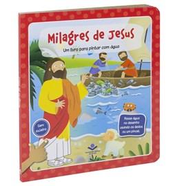 Um Livro para Pintar com Água | Milagres de Jesus